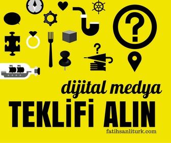 Dijital Medya Uzmanı Fatih Şanlıtürk